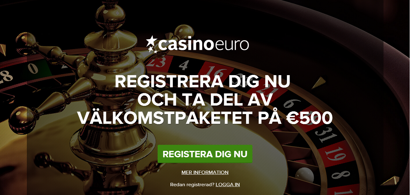 Casinoeuro startsida