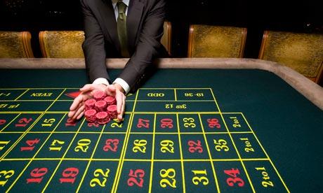 Roulette allt på rött
